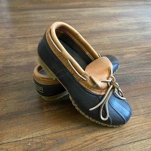 Women's L.L.Bean Boots, Rubber Moc women's size 9